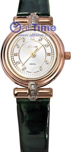 Женские наручные золотые часы в коллекции Орхидея Ника
