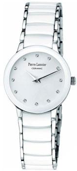 fashion наручные  женские часы Pierre Lannier 008D990. Коллекция Elegance Ceramic