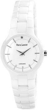 fashion наручные  женские часы Pierre Lannier 009J900. Коллекция Elegance Ceramic