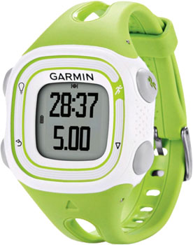 fashion наручные  мужские часы Garmin 010-01039-04. Коллекция Forerunner 10