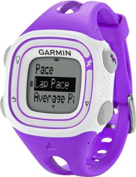 fashion наручные  мужские часы Garmin 010-01039-18. Коллекция Forerunner 10