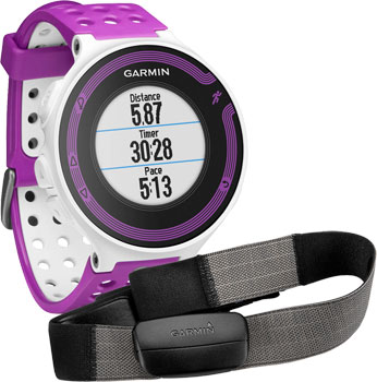 fashion наручные  мужские часы Garmin 010-01147-69. Коллекция Forerunner 220