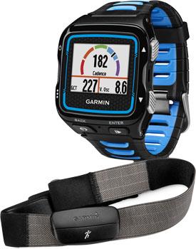 fashion наручные  мужские часы Garmin 010-01174-30. Коллекция Forerunner 920XT