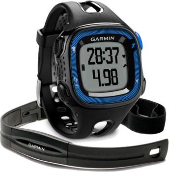 fashion наручные  мужские часы Garmin 010-01241-50. Коллекция Forerunner 15
