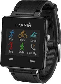 fashion наручные  мужские часы Garmin 010-01297-00. Коллекция Vivoactive