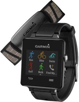 fashion наручные  мужские часы Garmin 010-01297-10. Коллекция Vivoactive