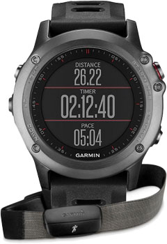 fashion наручные  мужские часы Garmin 010-01338-11. Коллекция Fenix 3