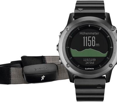 fashion наручные  мужские часы Garmin 010-01338-26. Коллекция Fenix 3