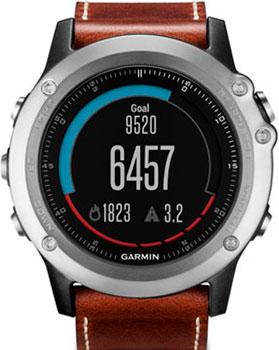 fashion наручные  мужские часы Garmin 010-01338-62. Коллекция Fenix 4
