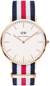 fashion наручные  мужские часы Daniel Wellington 0102DW. Коллекция Canterbury