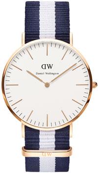 fashion наручные  мужские часы Daniel Wellington 0104DW. Коллекция Glasgow