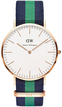 fashion наручные  мужские часы Daniel Wellington 0105DW. Коллекция Warwick