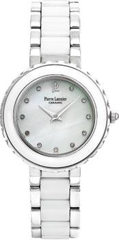 fashion наручные  женские часы Pierre Lannier 016L690. Коллекция Ladies Ceramic