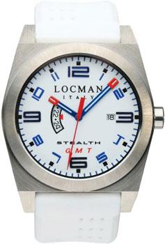 fashion наручные  мужские часы Locman 020000WHFBLRSIW. Коллекция STEALTH