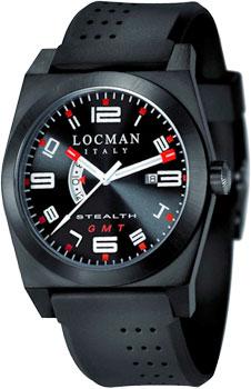 fashion наручные  мужские часы Locman 0200BKBKFRD1GOK. Коллекция STEALTH