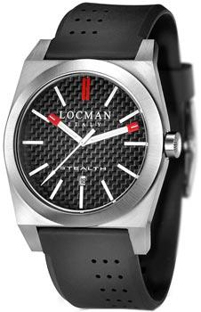 fashion наручные  мужские часы Locman 020100CBFRD1GOK. Коллекция STEALTH