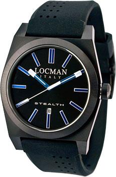 fashion наручные  мужские часы Locman 0201BKBKFBW1GOK. Коллекция STEALTH