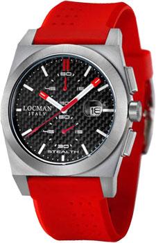 fashion наручные  мужские часы Locman 020200CBFRD1GOR. Коллекция STEALTH