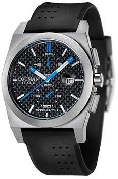 fashion наручные  мужские часы Locman 020200CBFSK1GOK. Коллекция STEALTH