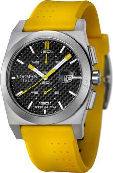 fashion наручные  мужские часы Locman 020200CBFYL1GOY. Коллекция STEALTH