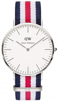 fashion наручные  мужские часы Daniel Wellington 0202DW. Коллекция Canterbury