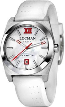 fashion наручные  женские часы Locman 020300MWFRD0SIW. Коллекция STEALTH