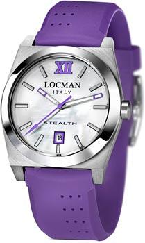 fashion наручные  женские часы Locman 020300MWFVT0SIV. Коллекция STEALTH