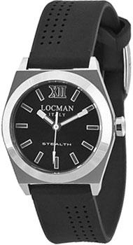 fashion наручные  женские часы Locman 020400BKFNK0SIK. Коллекция STEALTH