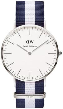 fashion наручные  мужские часы Daniel Wellington 0204DW. Коллекция Glasgow