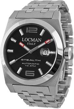 fashion наручные  мужские часы Locman 020500BKFNK0BR0. Коллекция STEALTH
