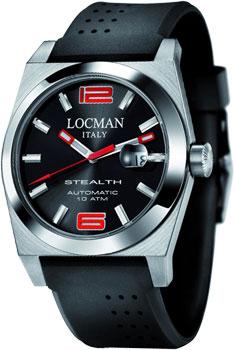 fashion наручные  мужские часы Locman 020500BKNRD0GOK. Коллекция STEALTH