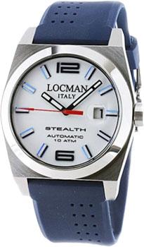 fashion наручные  мужские часы Locman 020500WHFBL0GOB. Коллекция STEALTH