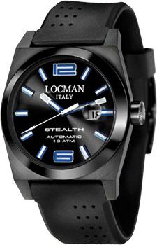 fashion наручные  мужские часы Locman 0205BKBKFBL0GOK. Коллекция STEALTH