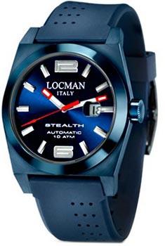 fashion наручные  мужские часы Locman 0205BLBLFNK0GOB. Коллекция STEALTH