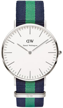 fashion наручные  мужские часы Daniel Wellington 0205DW. Коллекция Warwick