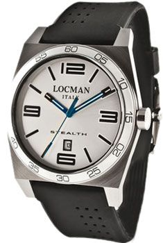 fashion наручные  мужские часы Locman 020800AAGBKKSIK. Коллекция STEALTH