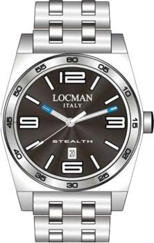 fashion наручные  мужские часы Locman 020800ABKWHSBR0. Коллекция STEALTH