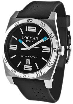 fashion наручные  мужские часы Locman 020800ABKWHSSIK. Коллекция STEALTH
