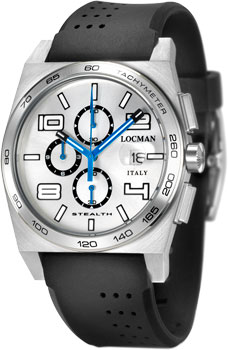 fashion наручные  мужские часы Locman 020900AAGBKKSIK. Коллекция STEALTH