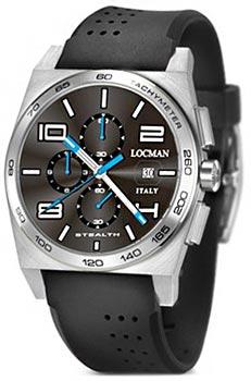fashion наручные  мужские часы Locman 020900ABKWHSSIK. Коллекция STEALTH
