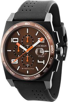 fashion наручные  мужские часы Locman 0209BKNBNWHOSIK. Коллекция STEALTH