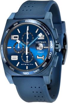 fashion наручные  мужские часы Locman 0209BLBBLWHWSIB. Коллекция STEALTH