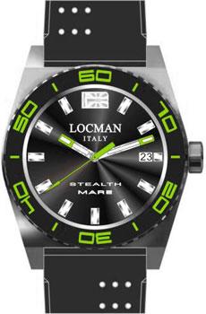 fashion наручные  мужские часы Locman 021100KG-BKASIK. Коллекция STEALTH