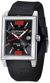 fashion наручные  мужские часы Locman 024000BKNRD8GOK. Коллекция STEALTH