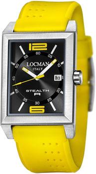 fashion наручные  мужские часы Locman 024000BKNYL8GOY. Коллекция STEALTH