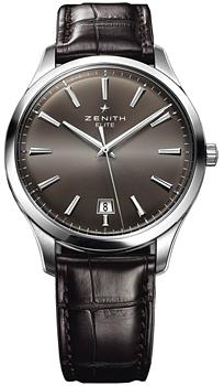 Швейцарские наручные  мужские часы Zenith 03.2020.670_22.C498