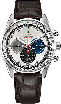 Швейцарские наручные  мужские часы Zenith 03.2040.400_69.C494