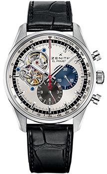 Швейцарские наручные  мужские часы Zenith 03.2040.4061_69.C496