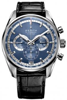 Швейцарские наручные  мужские часы Zenith 03.2041.400_51.C496