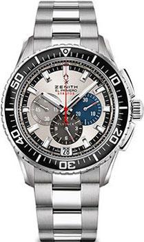 Швейцарские наручные  мужские часы Zenith 03.2066.405_69.M2060